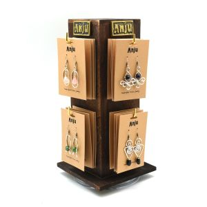 Four-sided spinner display