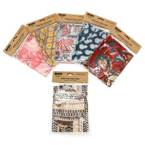 Mask And Pouch - Set