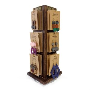 Wooden Spinner Display- 4 sided