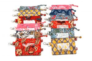 12 Assorted ID Pouches